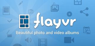 تطبيق مجانى للاندرويد لتنظيم الصور ومقاطع الفيديو وعرضها فى البومات مميزة وعرض الشرائح flayvr-photo gallery1.1.1 apk