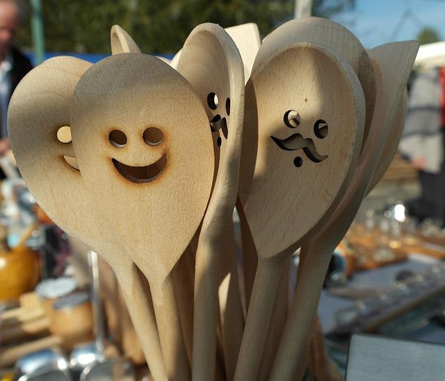 utensilios madera para cocina