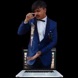 virtual online magician show india corporate birthday delhi best dheeraj shah