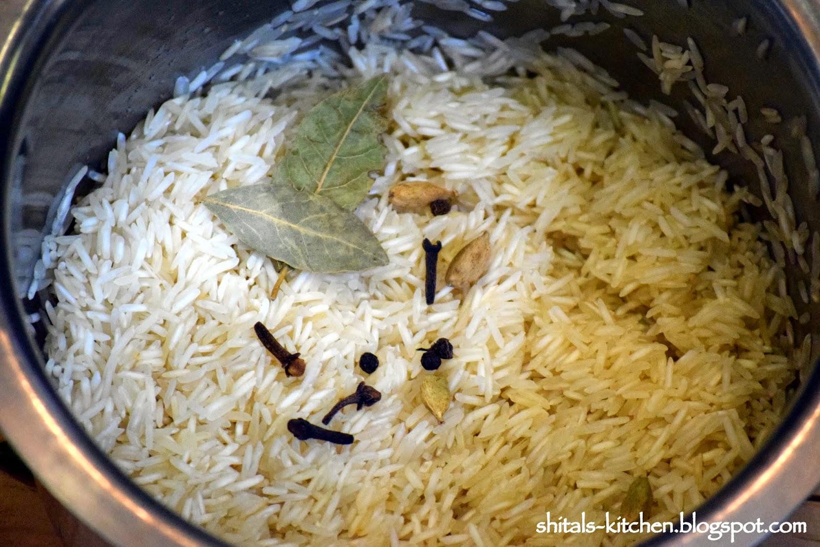 Shital S Kitchen Vegetable Dum Biryani