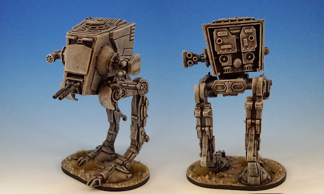 AT-ST Walker, Imperial Assault FFG (2014, sculpted by Benjamin Maillet)