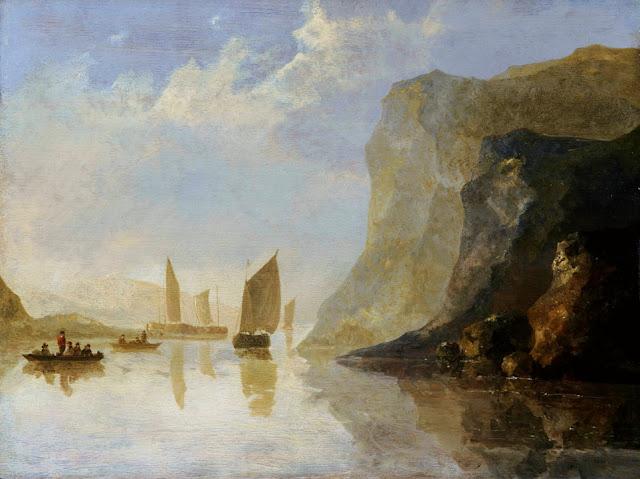 Альберт Кёйп - Речной пейзаж. ок1650