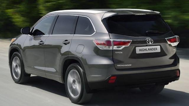 2018 Toyota Highlander Release Date