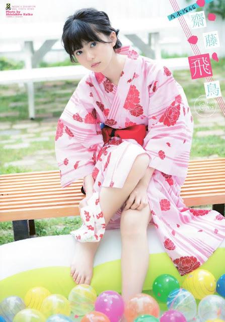 foto saito asuka gravure nogizaka46 member WSC 35 7