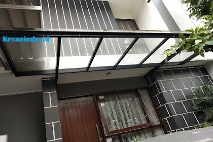 Jasa Canopy Besi atap Kaca di Jabodetabek, Bandung dan Cirebon