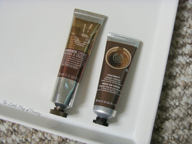 The Body Shop Almond hand & nail cream