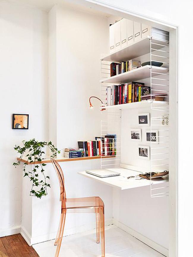 Marzua escritorios peque os - Escritorio para espacios pequenos ...