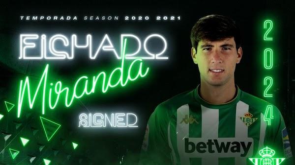 Oficial: Juan Miranda se queda en el Betis hasta 2024