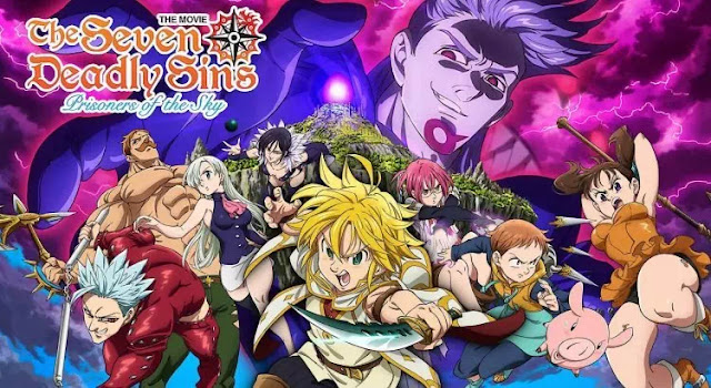 Nanatsu no Taizai Movie: Tenkuu no Torawarebito Sub Indo