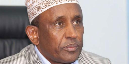 Garissa Governor Ali Bunow Korane