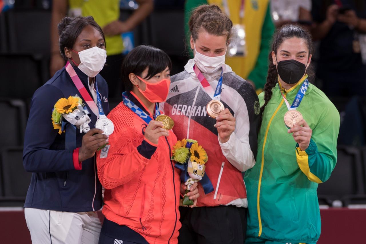 França, Japão, Alemanha e Brasil no judô em Olimpíadas