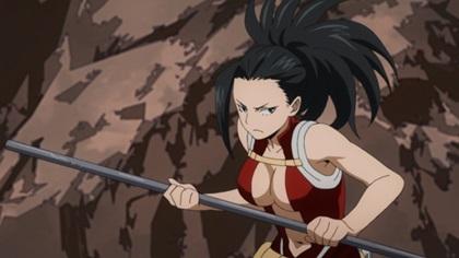 ยาโอโยโรซึ โมโมะ (Yaoyorozu Momo: やおよろずもも) @ My Hero Academia