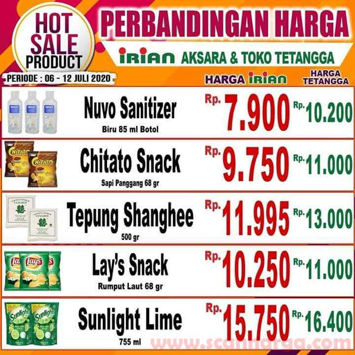 Katalog Promo IRIAN Supermarket Dan Department Store 6 - 12 Juli 2020 7