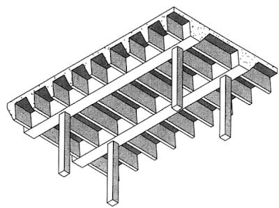 FIGURE 3 Wide module joist system.