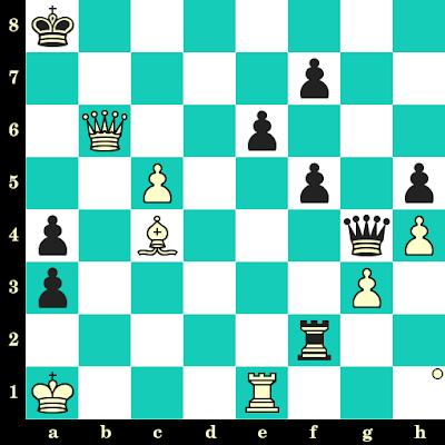 Les Blancs jouent et matent en 2 coups - Aleksandar Matanovic vs Franck Triger, Varna, 1962