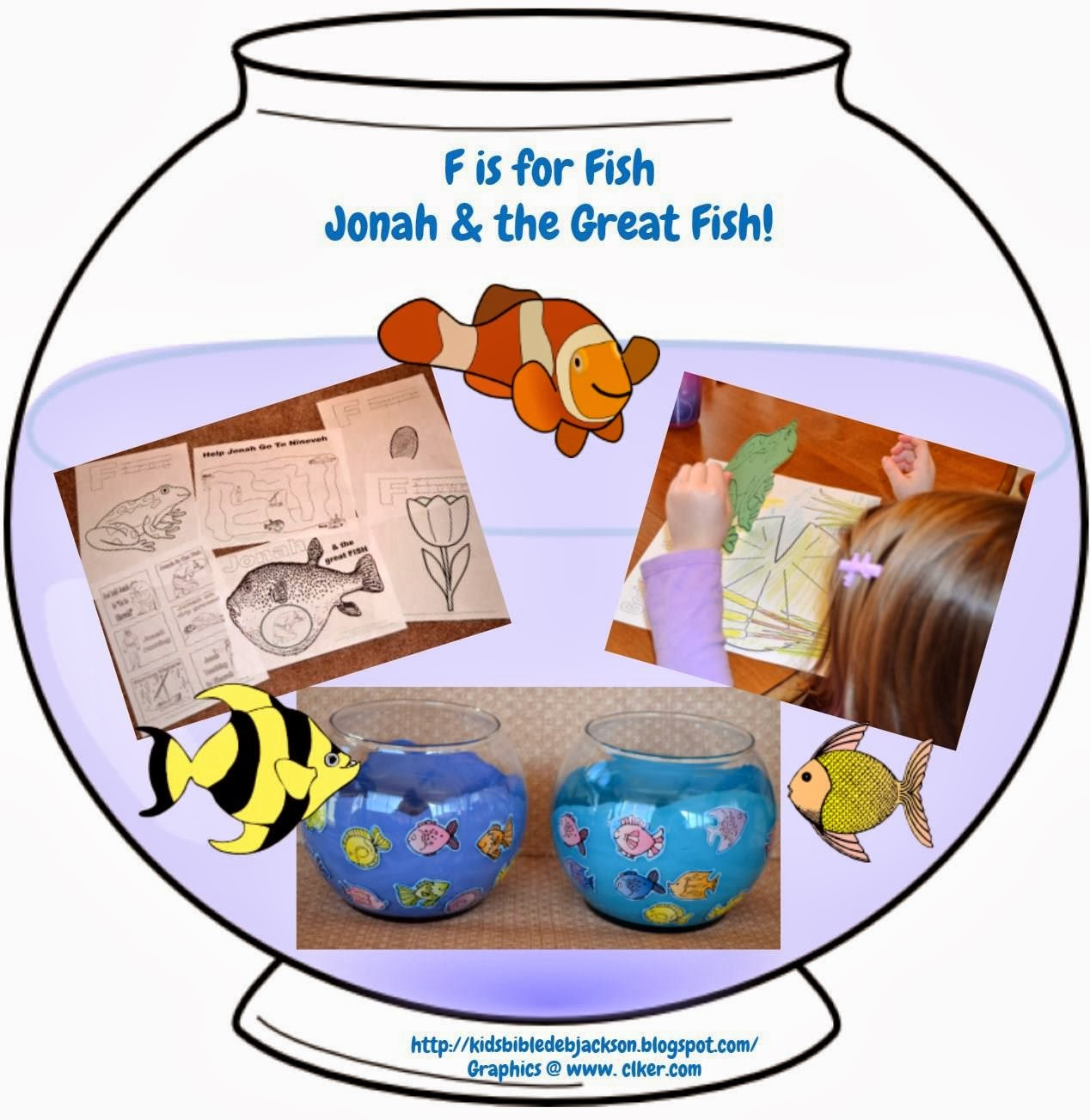 Bible Fun For Kids Preschool Alphabet F Is For Fish