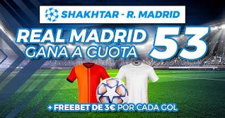 Paston Megacuota: Gana Real Madrid champions 1 diciembre 2020