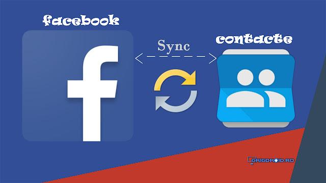 Cum să adaugi fotografiile de profil de pe Facebook la contactele din agenda telefonului