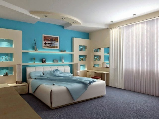 best wall color for relaxing bedroom