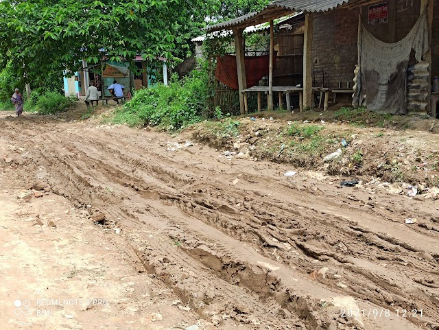 मोटरेबल के नाम पर विभाग ने कर दिया पाली पथ का सत्यानाश