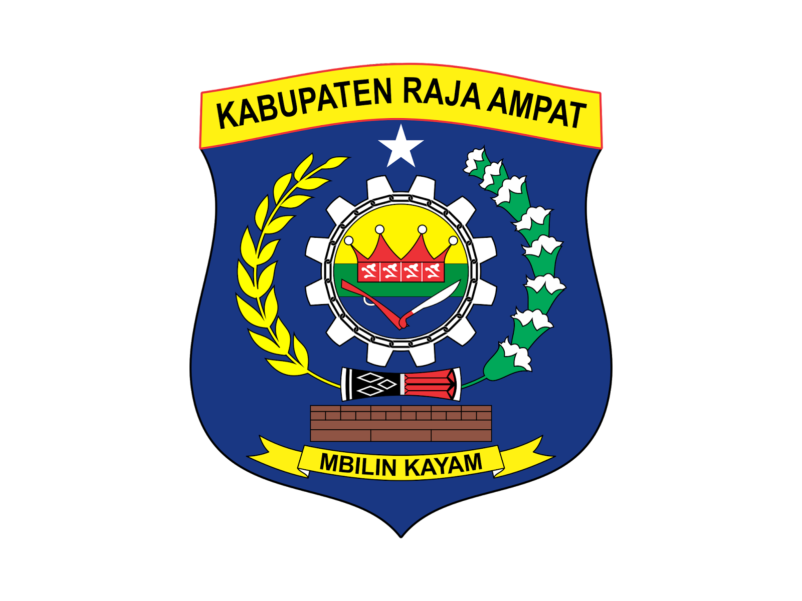 Logo Kabupaten Raja Ampat Vector Cdr Png Hd Biologizone