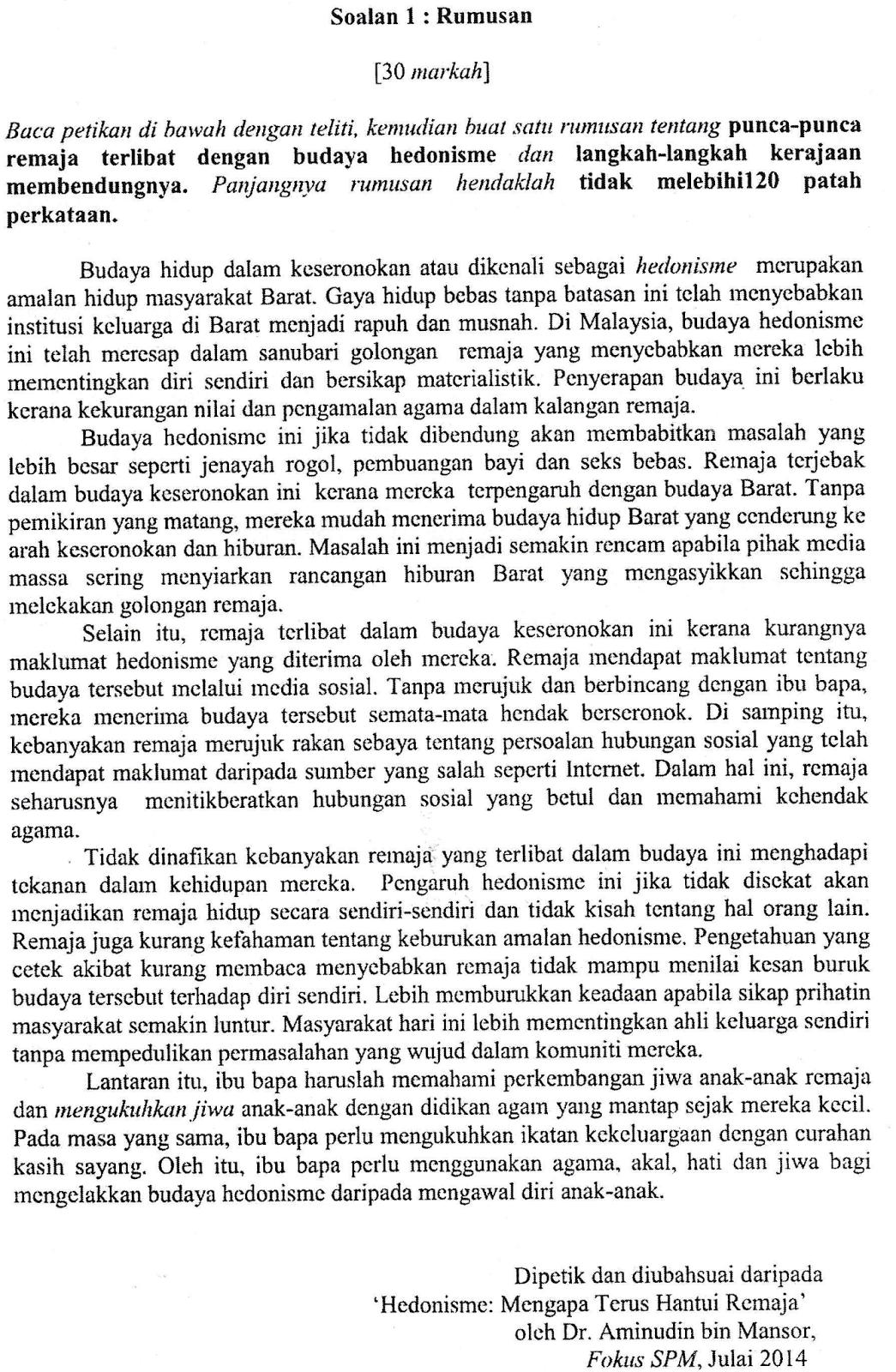 Terengganu Soalan Percubaan Bm Spm 2017 Jawapan