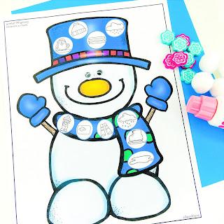 Print and Go Snowman