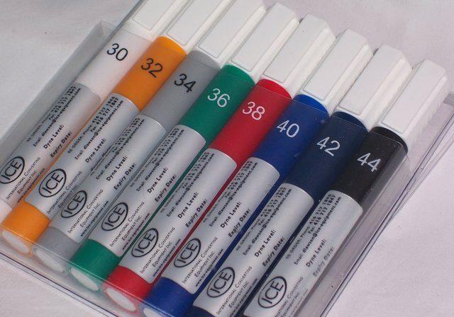 Non-Toxic Dyne Test Kits