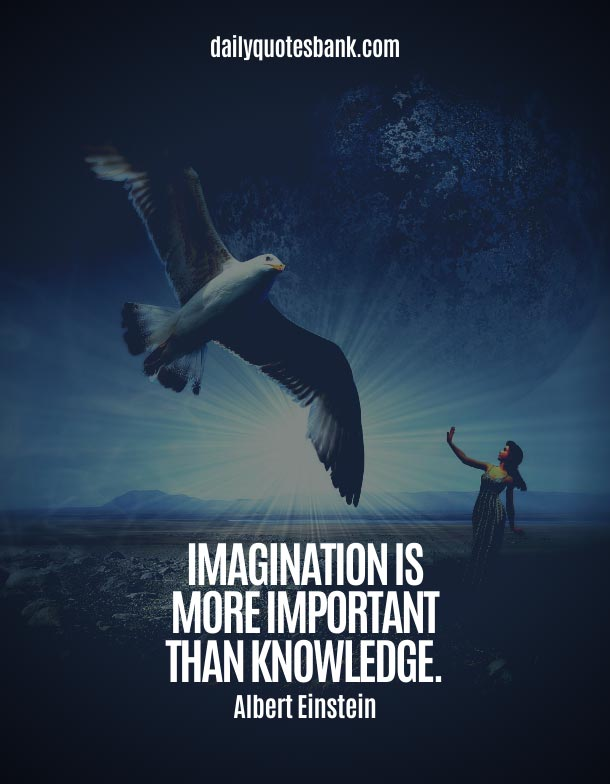 Quotes About Imagination and Knowledge