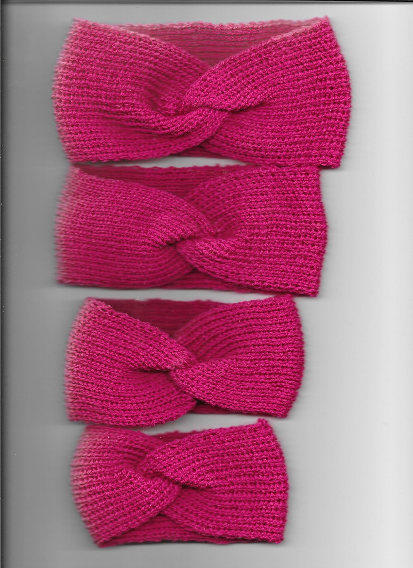 Baby Twisted Headbands