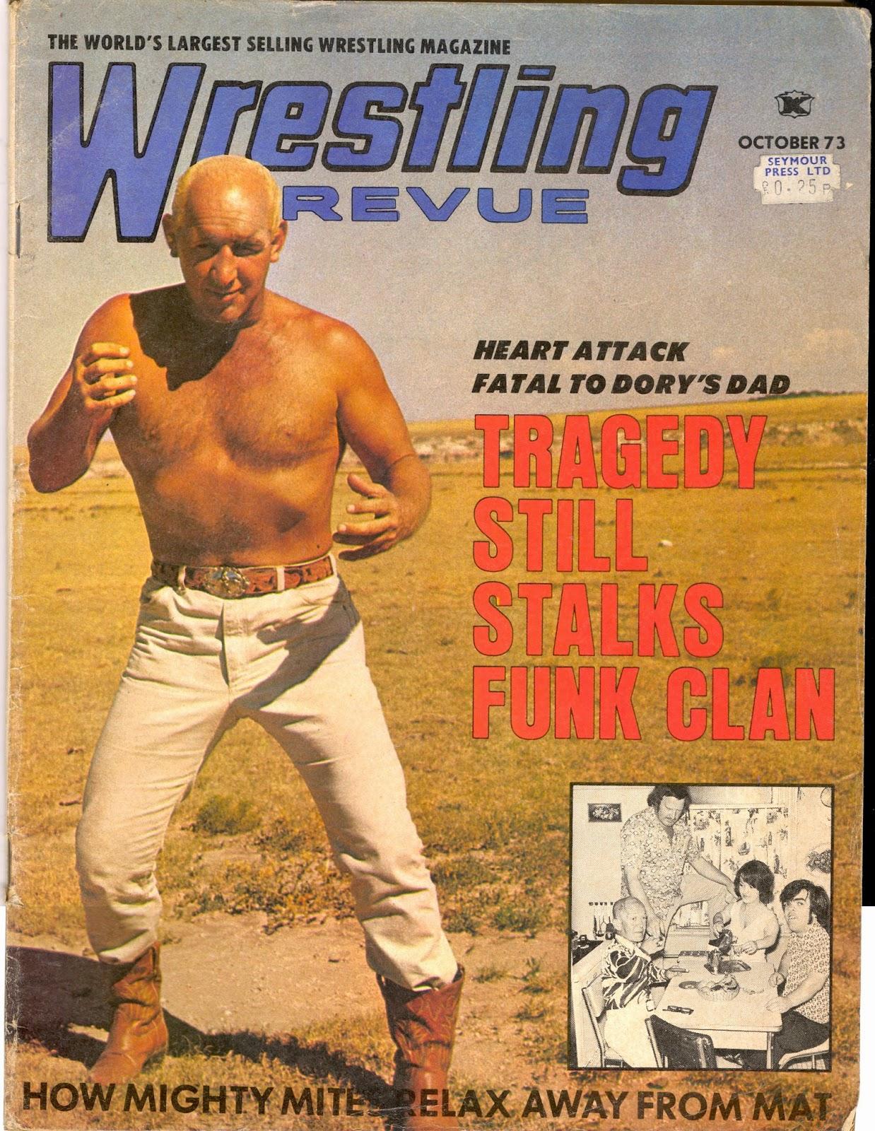 1970s Wrestling Magazine