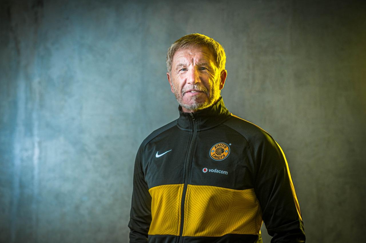 Kaizer Chiefs head coach Stuart Baxter