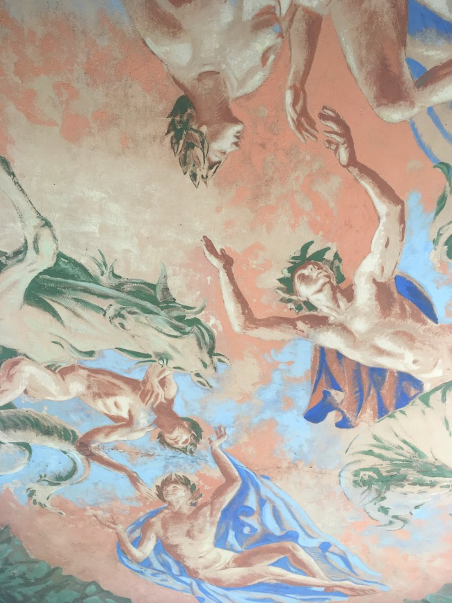 Portmeirion-Wales-painted-italianate-ceiling-fresco
