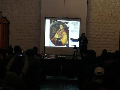 Dra. Alba Choque Porras -  Conferencia IMAGEN Y PODER. RETRATOS DE MUJERES INCAS EN LA PINTURA VIRREINAL