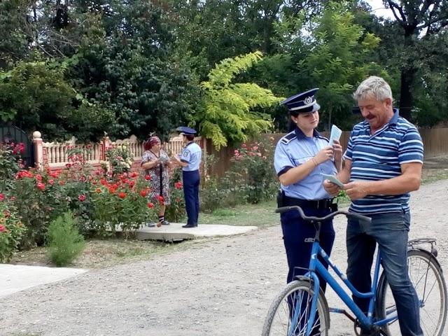 Locuinţele din mediul rural - în atenţia poliţiştilor brăileni