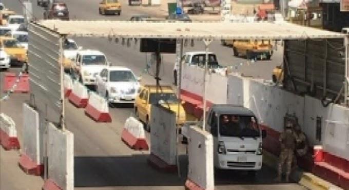 الإطاحة بإرهابي خطير في إحدى سيطرات بغداد