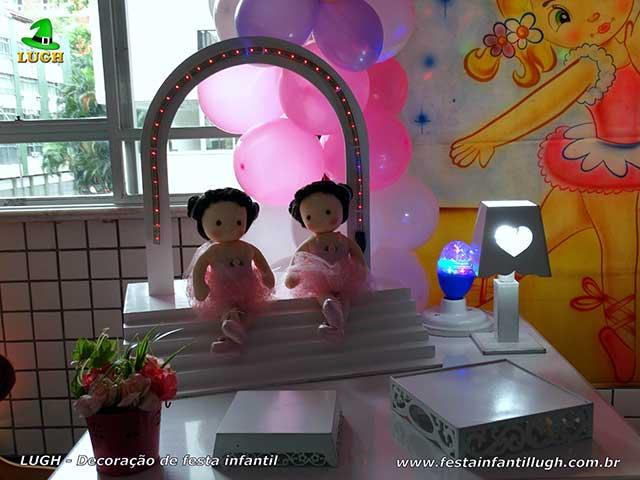 Decoração infantil Bailarinas - decoração de aniversário