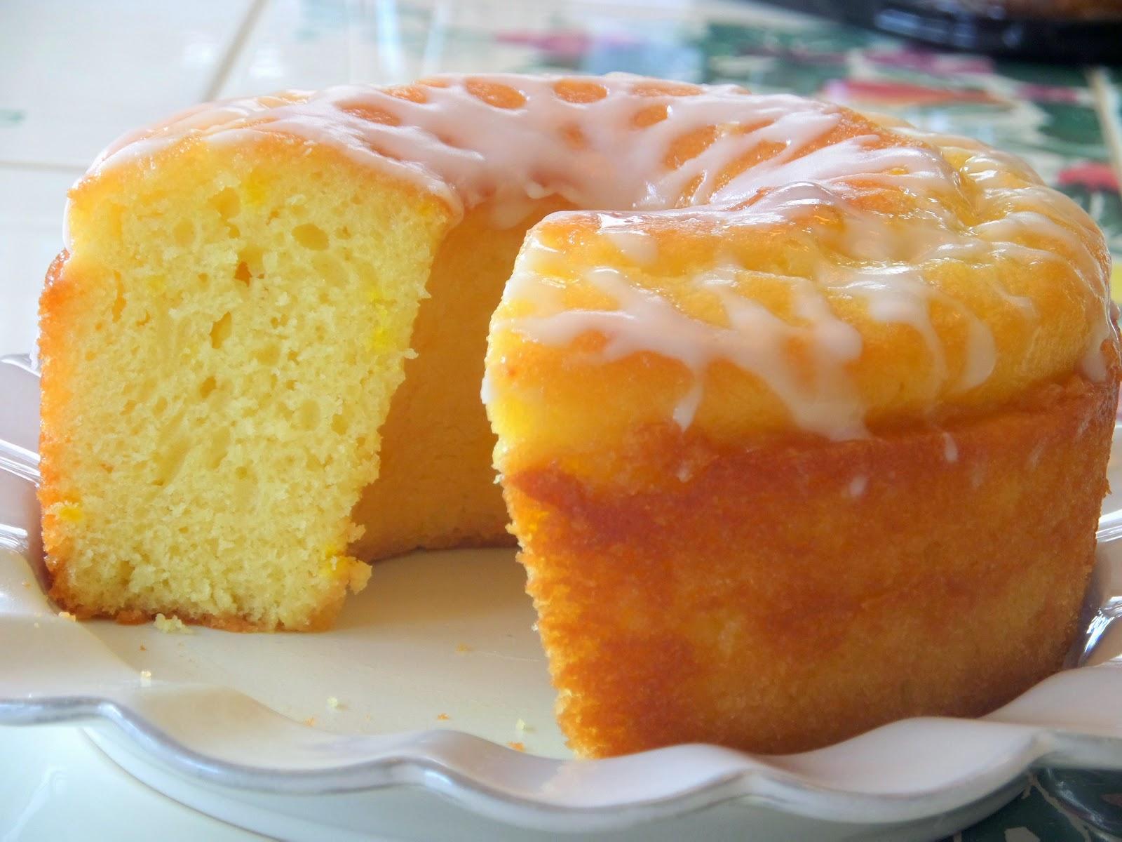 Lemon Glaze Icing For Lemon Pound Cake