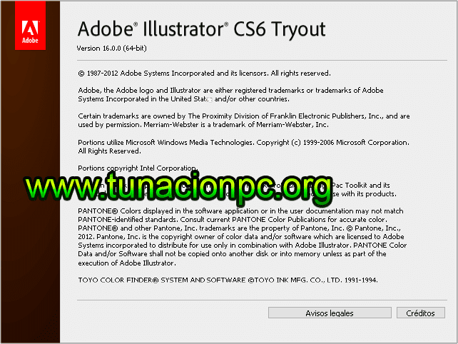 Adobe Illustrator CS6 con licencia para windows y macos