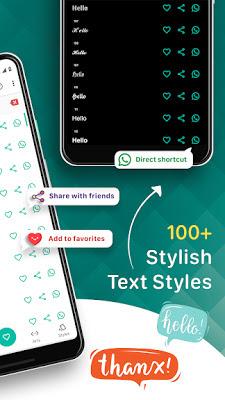 تطبيق زخرفة الخطوط Stylish Text