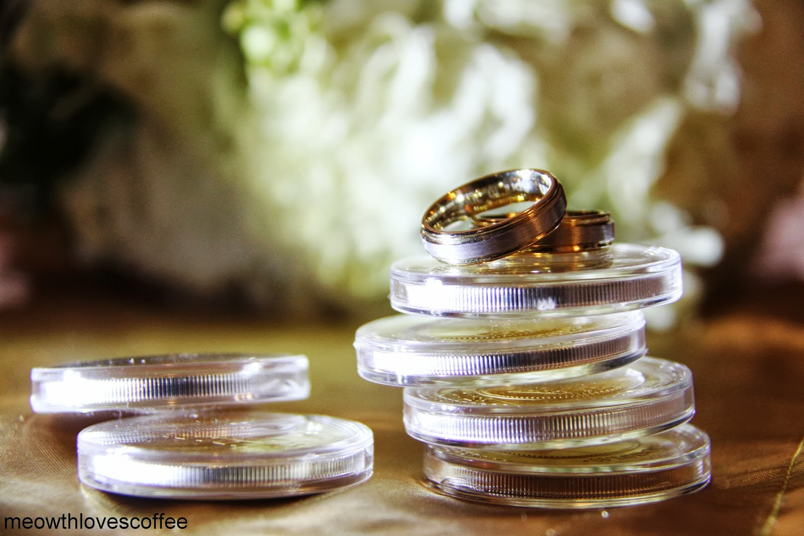 Gold And Silver Plated Arrhae Aras By Endless Treasures In Filipino Catholic Weddings Traditionally Symbolizes Prosperity