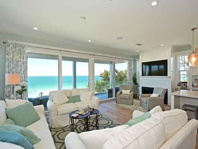 Sundays By The Shore-Beach Rental-Anna Maria Island-Living Room-From My Front Porch To Yours