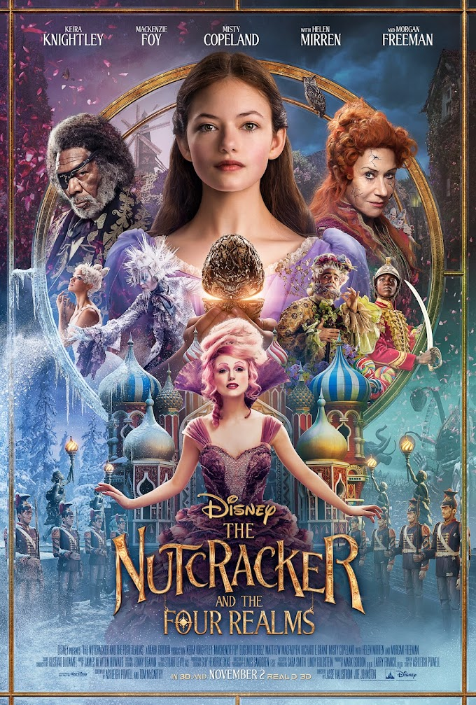 The Nutcracker and the Four Realms 2018 Dual Audio Hindi 720p 480p HDRip 850MB 300MB