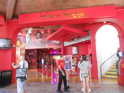 Madame Tussauds (entrada) Las Vegas