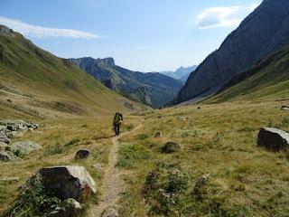 Llegando a Cayolars d'Anaye (1.513 m)