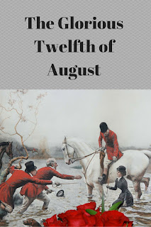 The Glorious Twelfth of August, fox hunting, hunting, Regency England, romance novel, romance writing, history, Regency