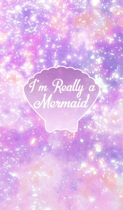 I'm Really a Mermaid -Purple-