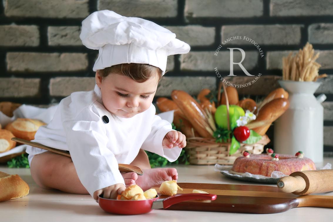 Book bebê Cozinheiro