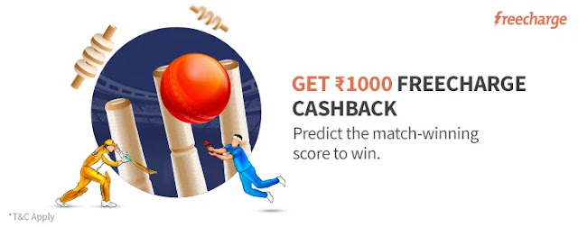 FreeCharge Predict and Win