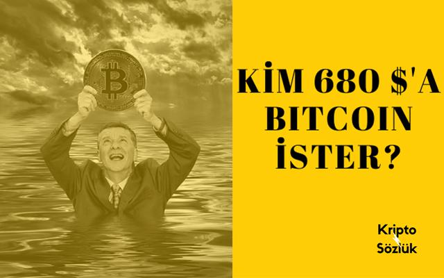 Kim 680 Dolara Bitcoin İster❓ Görülmemiş Kaza!